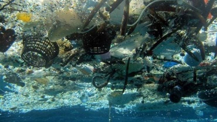 Great Pacific Garbage Patch, floating 'Island'